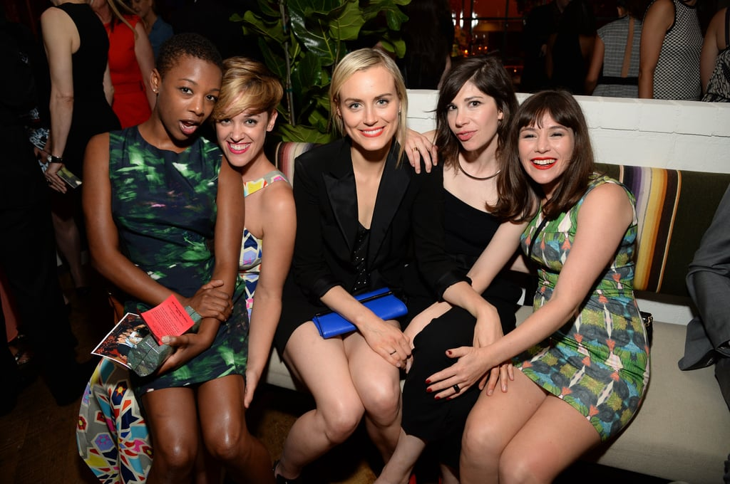 The cast ofOrange Is the New Black partied at Variety's party.