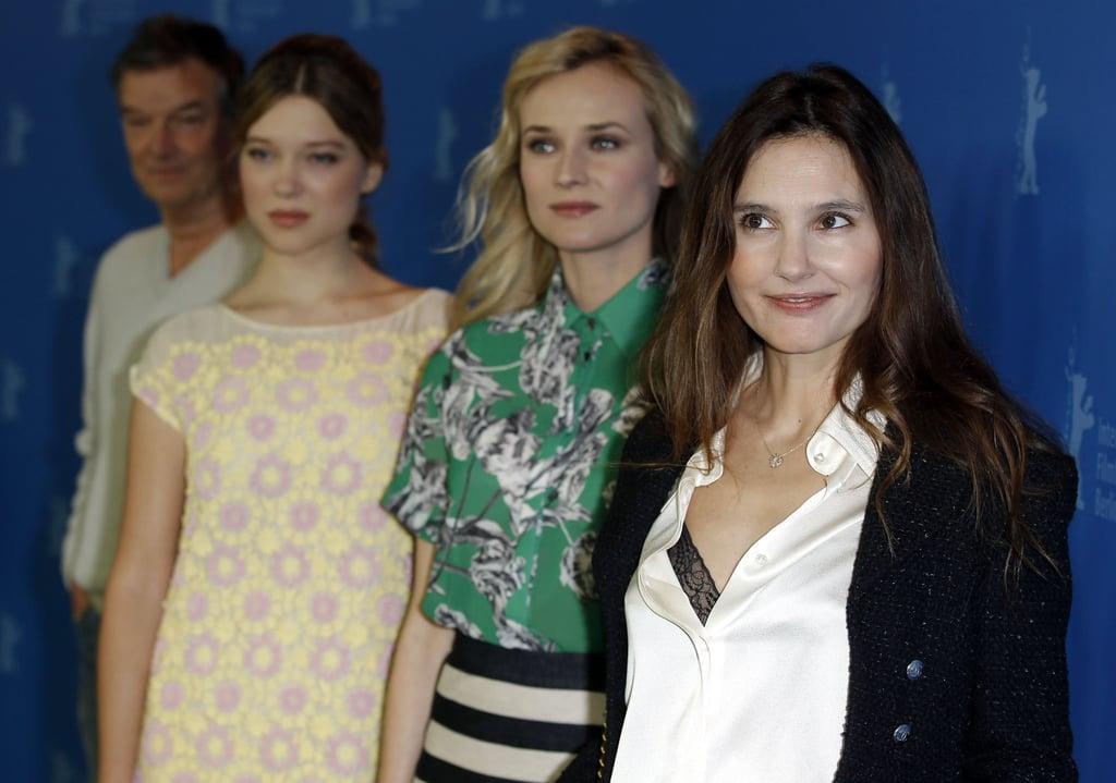 Virginie Ledoyen, Diane Kruger and Léa Seydoux attended the Berlin Film Festival.