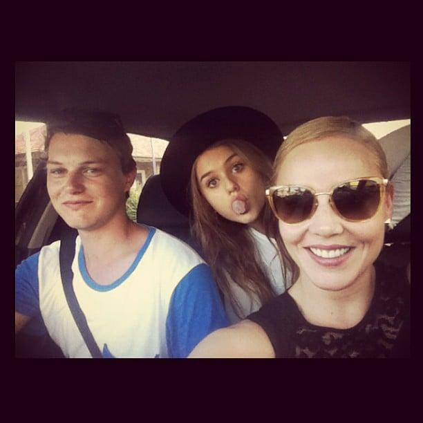 The Cornish siblings, Zac, Isabelle and Abbie, went on a road trip. Source: Instagram user isabellecornishh
