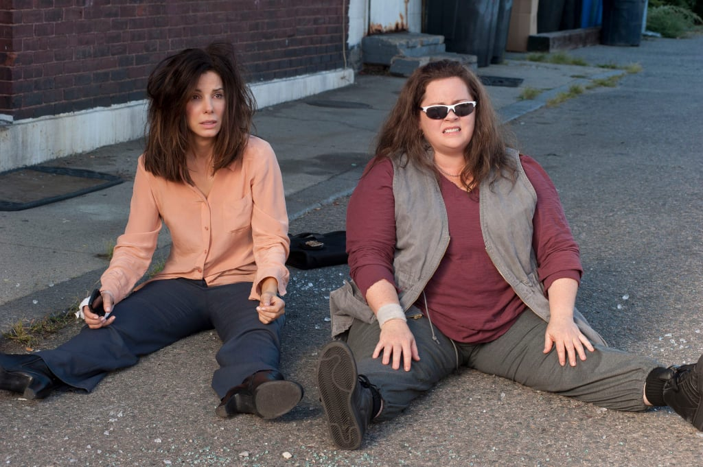 Sandra Bullock as Sarah and Melissa McCarthy as Shannon It's about time the buddy-cop cliché got a female spin, and we can't wait to see funny ladies Sandra Bullock and Melissa McCarthy hit the big screen together in The Heat.