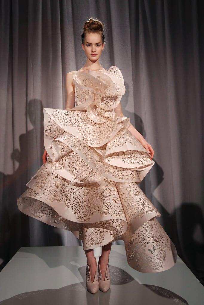 2011 Spring New York Fashion Week: Marchesa