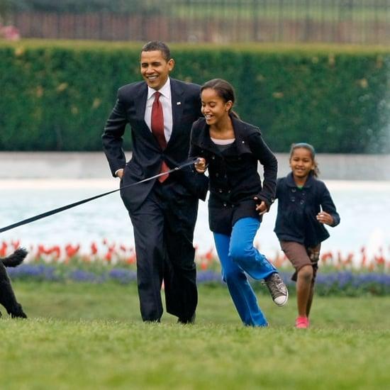 Barack Obama Cute Moments With Sasha and Malia
