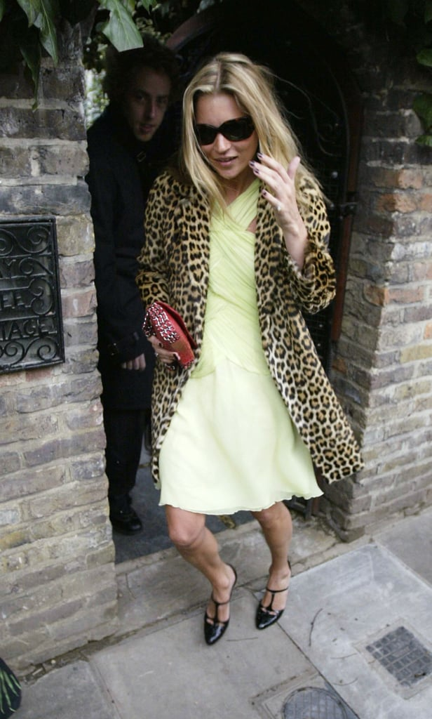 January 2004: Celebrating her 30th Birthday in London