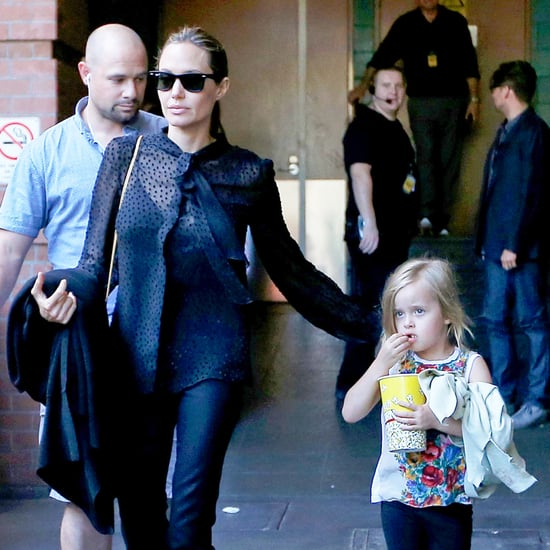 Angelina Jolie and Her Kids at The Lion King | Pictures