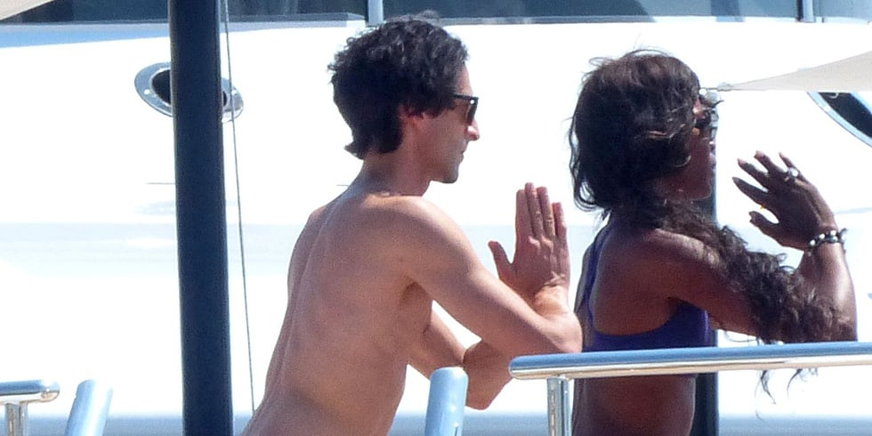 Good to Know: Naomi Campbell and Adrien Brody Are Yoga Buddies