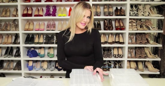 Khloe Kardashian's Jewelry Is Just as Over-the-Top Organized as You Think It'd Be