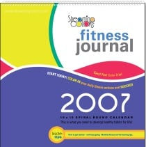 Color for Fitness: Fitness Journal