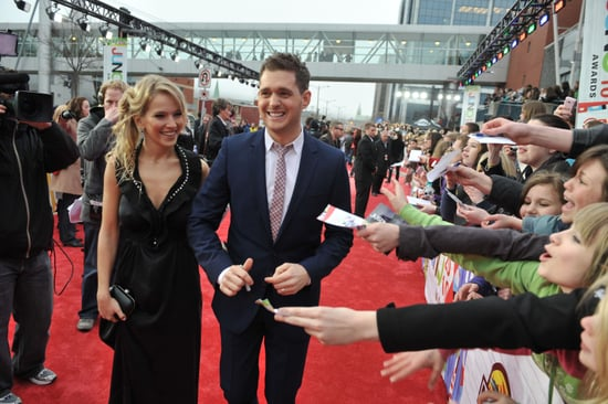 Michael-Bublé-Luisana-Lopilato-walked-carpet-together