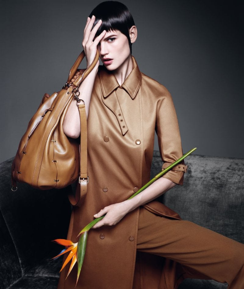 Max Mara reinvents its light brown trench coat for Spring. Source: Fashion Gone Rogue