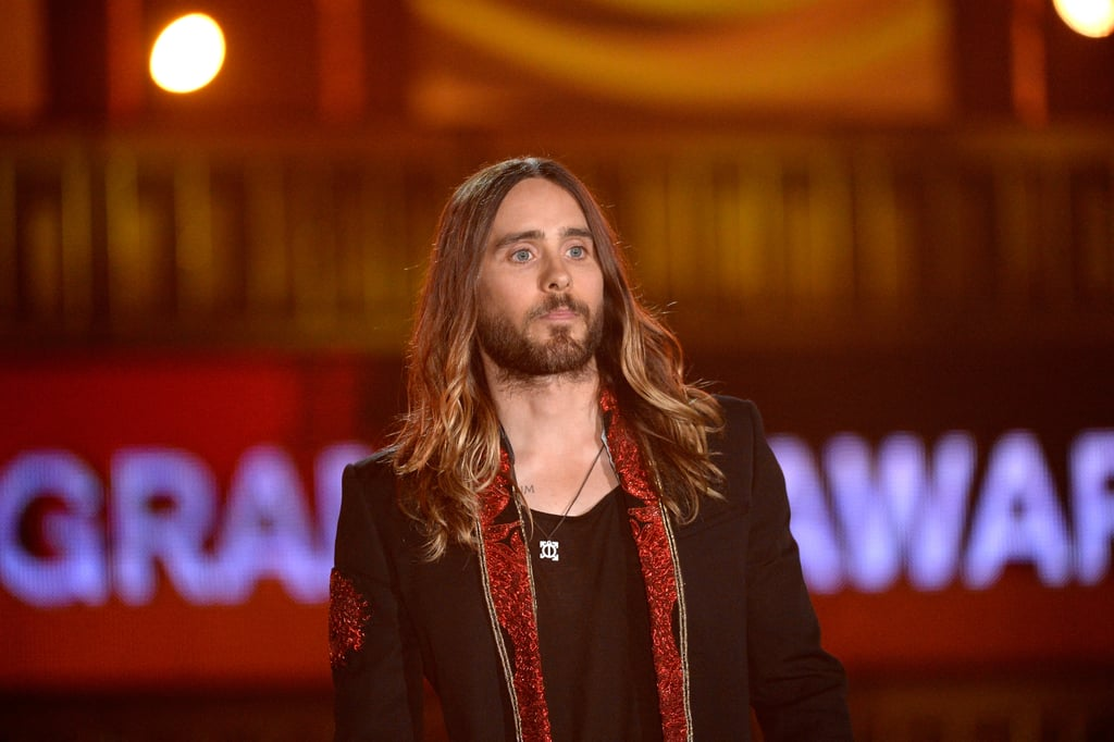 Jared Leto took the stage to introduce Metallica.