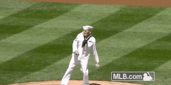 WWII Veteran Makes His Pitch For Immortality At MLB Game