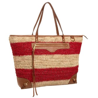 Trendy Summer Straw Tote Bags