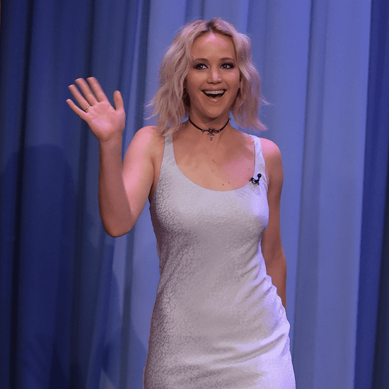 Jennifer Lawrence's Choker on Jimmy Fallon May 2016