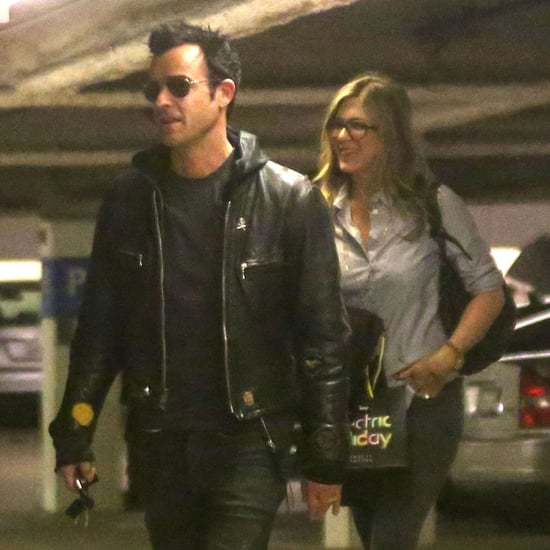 Jennifer Aniston and Justin Theroux Shop at Barneys