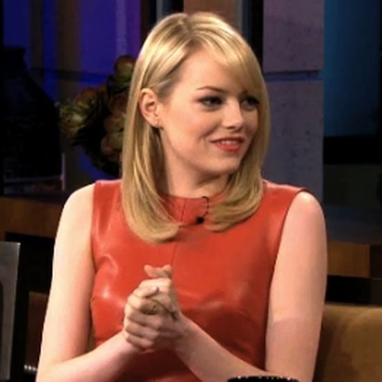Emma Stone Talking About Andrew Garfield (Video)
