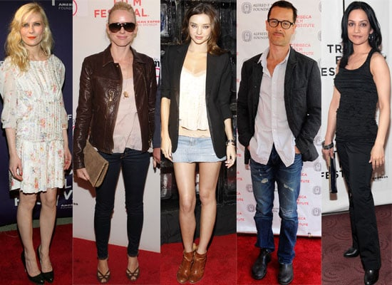 Photos of All the Celebrities at the Tribeca Film Festival 2010 Including Guy Pearce, Kirsten Dunst, Naomi Watts, Miranda Kerr 2010-04-26 07:05:59