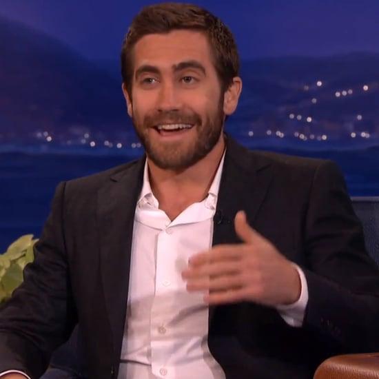 Jake Gyllenhaal Talks About Halloween on Conan