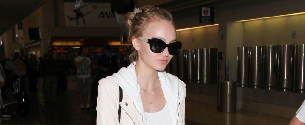 Just Wait Until You See the Bag Lily-Rose Depp Chose as Her Carry-On