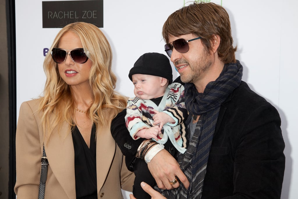 Rachel Zoe, Skyler and Rodger Berman at Babys R Us