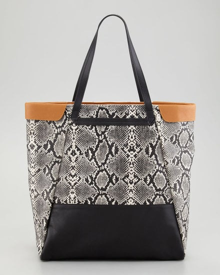 This Be & D Nixie Tote Bag ($258) supplies a splash of snake print that's polished enough for the office and cool enough for your off-duty days.