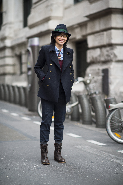 Total tomboy, totally chic.  Source: Le 21ème | Adam Katz Sinding