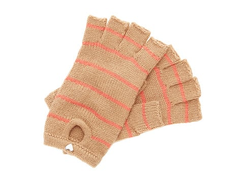 BCBGeneration Striped Gloves
