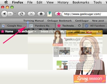 Organize Your Web Browser Tabs