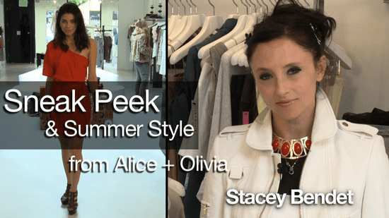 Alice + Olivia Summer Style & Exclusive Holiday Sneak Peek!