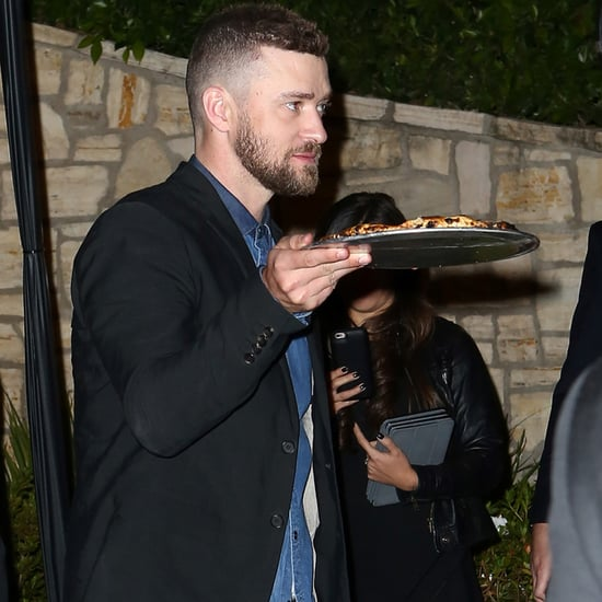 Jessica Biel and Justin Timberlake at Pre-Oscars Party 2016