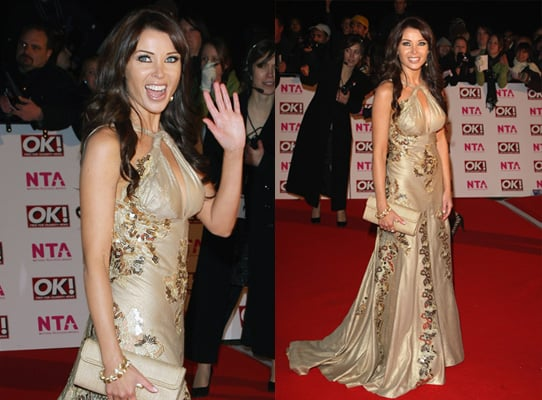 Dannii Minogue, Red Carpet, 2008 National Television Awards, London