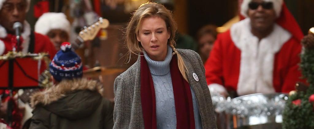 Renée Zellweger Has Never Looked Better on the Set of Bridget Jones's Baby
