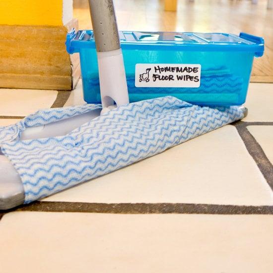 Homemade Floor Wipes