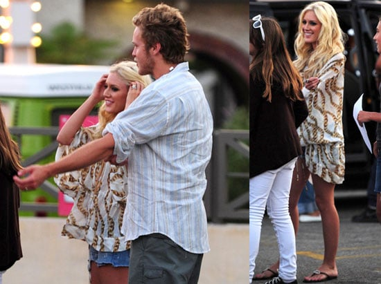 Photos of Heidi Montag and Spencer Pratt Filming The Hills in LA