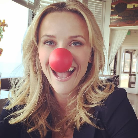 Celebrities Share Red Nose Day Pictures on Social Media