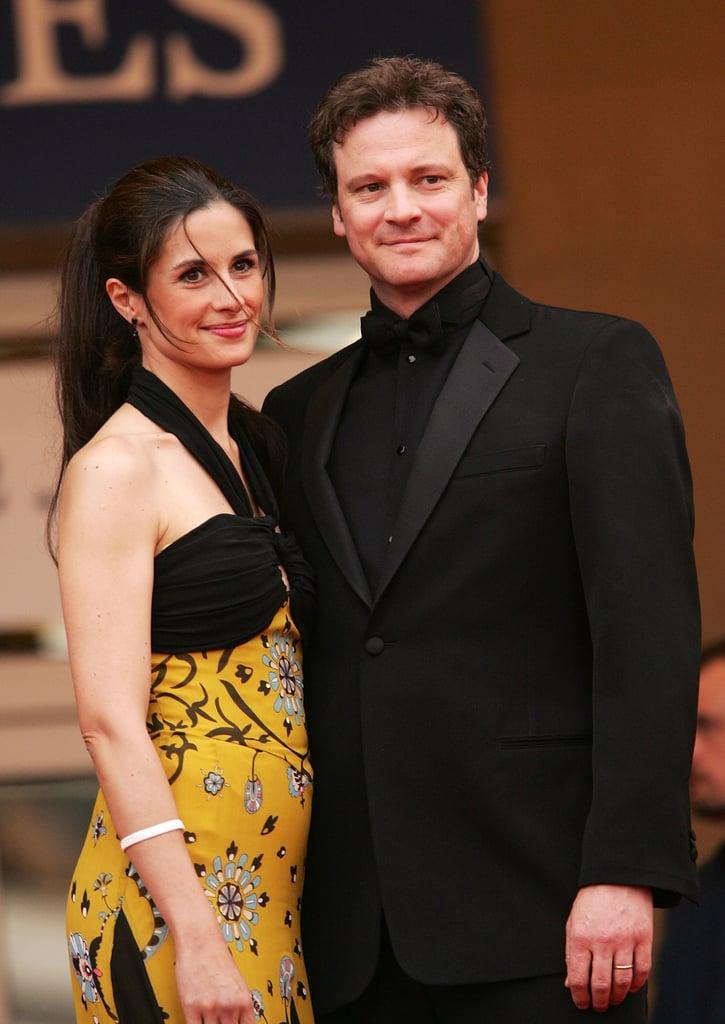 Colin Firth and Livia Giuggioli in 2005