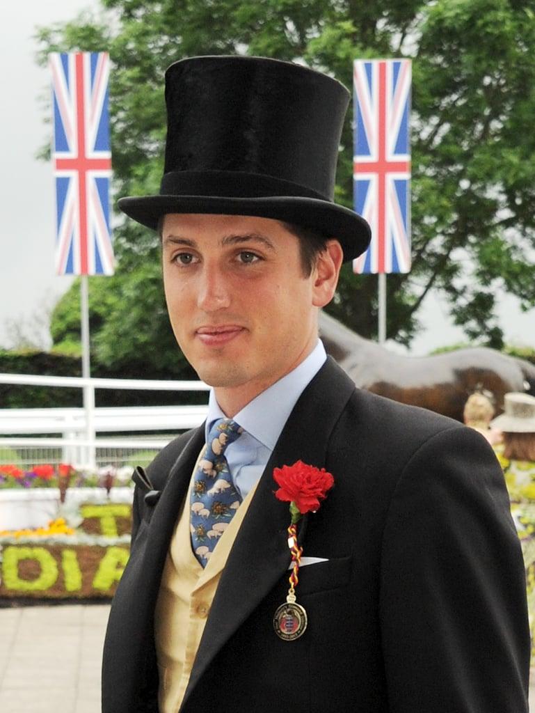 Jake Warren attended the Diamond Jubilee Derby.