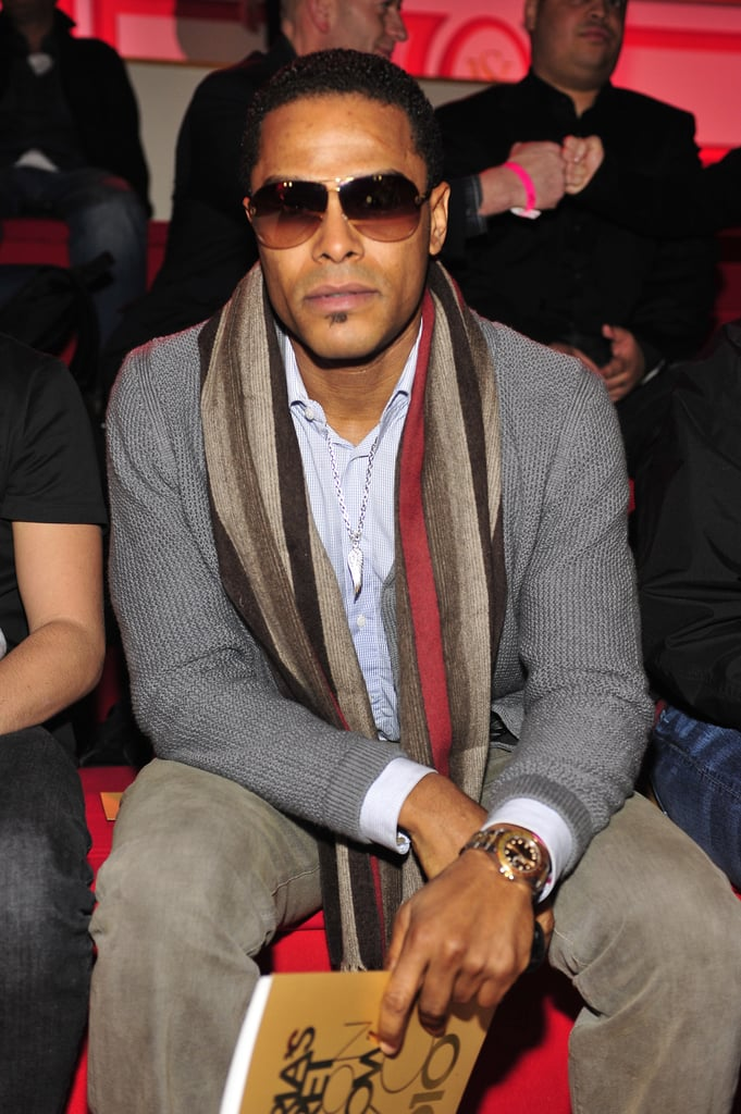 Maxwell was spotted sitting front row in 2010.