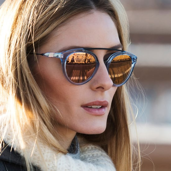 Thanks To Olivia Palermo, Rose-Gold Sunglasses Are Now On Our Wishlist
