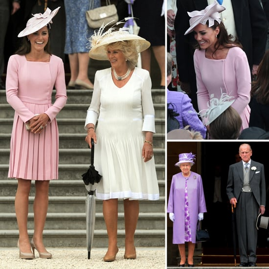 Kate Middleton Breaks Out a Familiar Pink Dress For Tea With the Queen