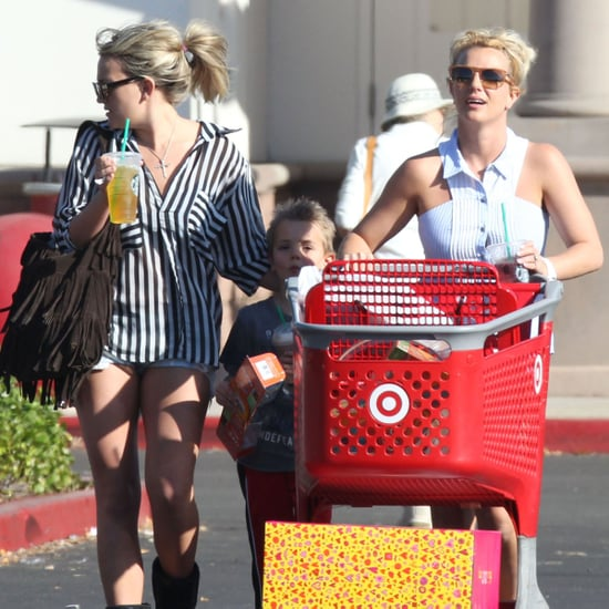 Britney Spears Shopping With Sons in LA