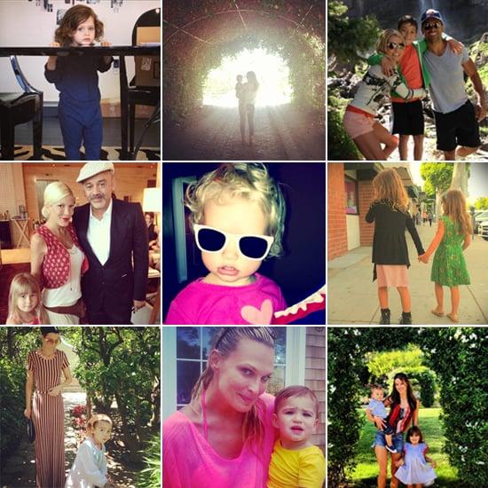 Celebrity Moms' Instagram Pictures Week of June 23, 2013