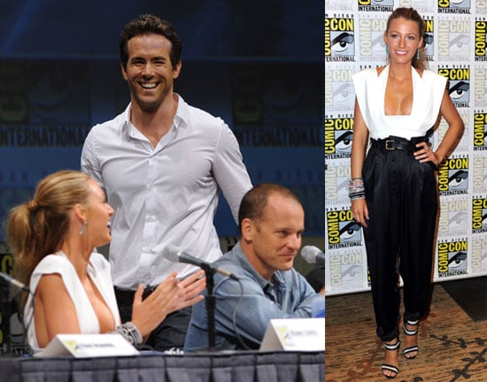 Blake Lively and Ryan Reynolds Promoting Green Lantern at Comic-Con 2010-07-26 16:00:00