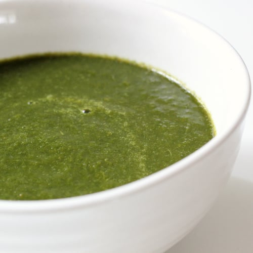 Mustard and Collard Greens Soup