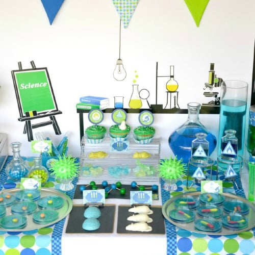 Mad-Scientist Birthday Party