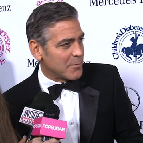 George Clooney at Carousel of Hope Ball | Video