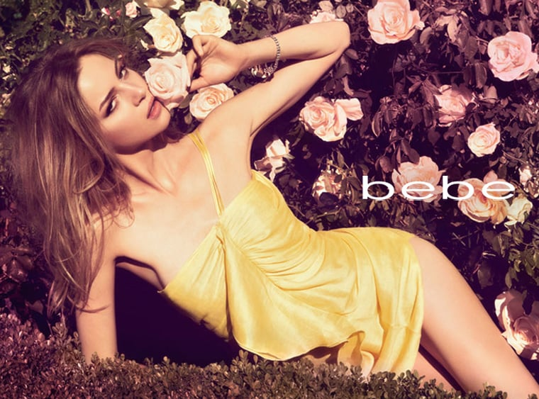 Fab Ad: Bebe Spring '09