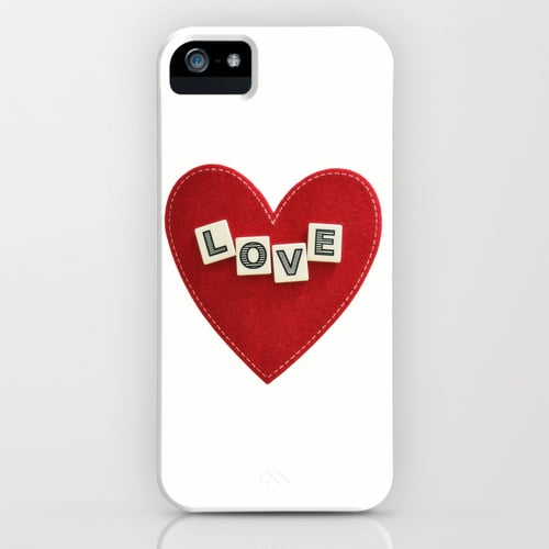 Heart love case ($35) for iPhone models and Samsung Galaxy S