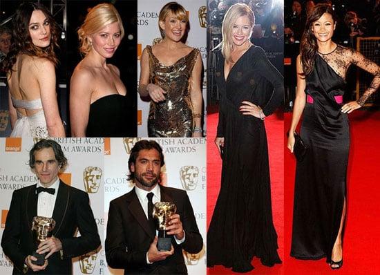 British (and Not) Beauties Brighten Up the BAFTAs