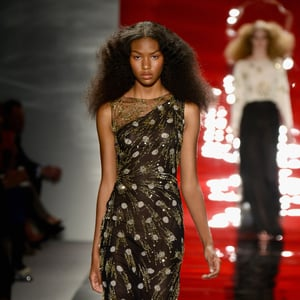 Reem Acra Spring 2014 Hair and Makeup | Runway Pictures