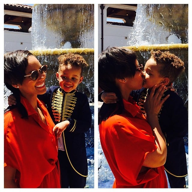 """Alicia Keys expressed how """"honored"""" she is to be little Egypt's mom. Source: Instagram user aliciakeys"""